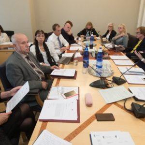 Заседание социальной комиссии Рийгикогу в октябре 2018 года. Автор: Канцелярия Рийгикогу.