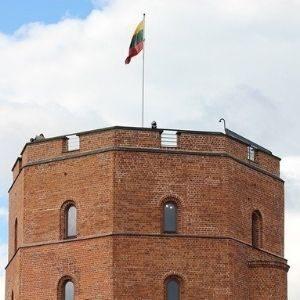 Башня Гедимина в Вильнюсе. Автор/Источник фото: Pixabay.com.